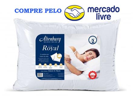 Travesseiro Altenburg Royal 50cm x 70cm