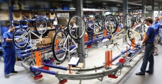 Fábrica de bicicleta em Montes Claros