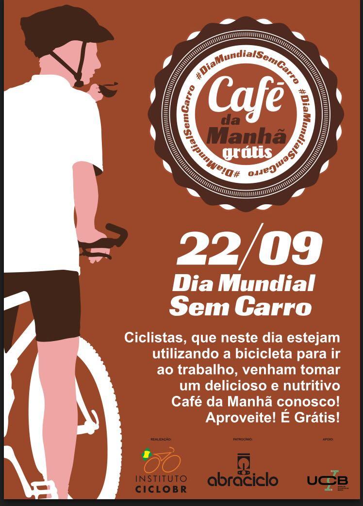 Café com Instituto CicloBR - Dia mundial sem carro