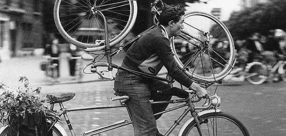 A bike bonita na foto