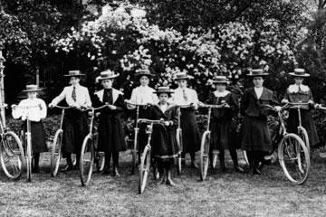 A bicicleta e a emancipação feminina