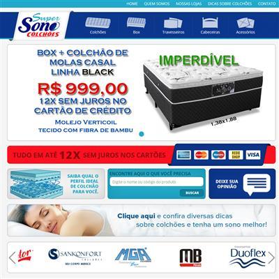 Super Sono Colchões|www.supersonocolchoes.com.br